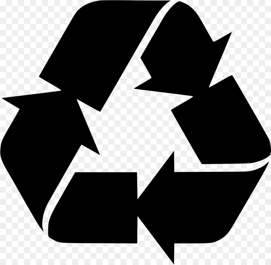 White Recycle Symbol Png (+).