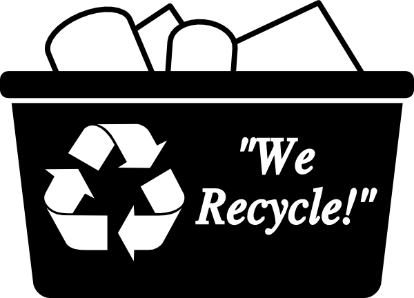 Paper recycle clipart kid.