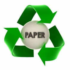 The Paper Recycling Process.