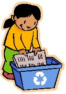 recycle paper clipart #16
