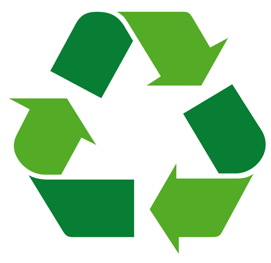 Recycling Symbol Green transparent PNG.