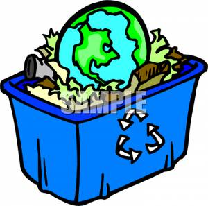 Recycling Clip Art Animation.