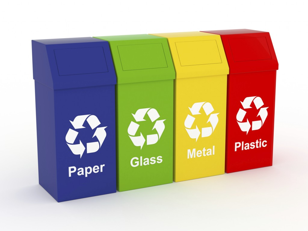Green Recycling Bin Clipart.