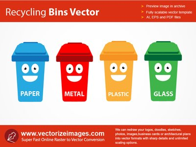 Recycle Bin OR Delete Clip Art, Vector Recycle Bin OR Delete.