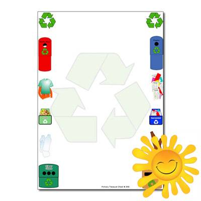 Recycling / Eco School Themed Resources.