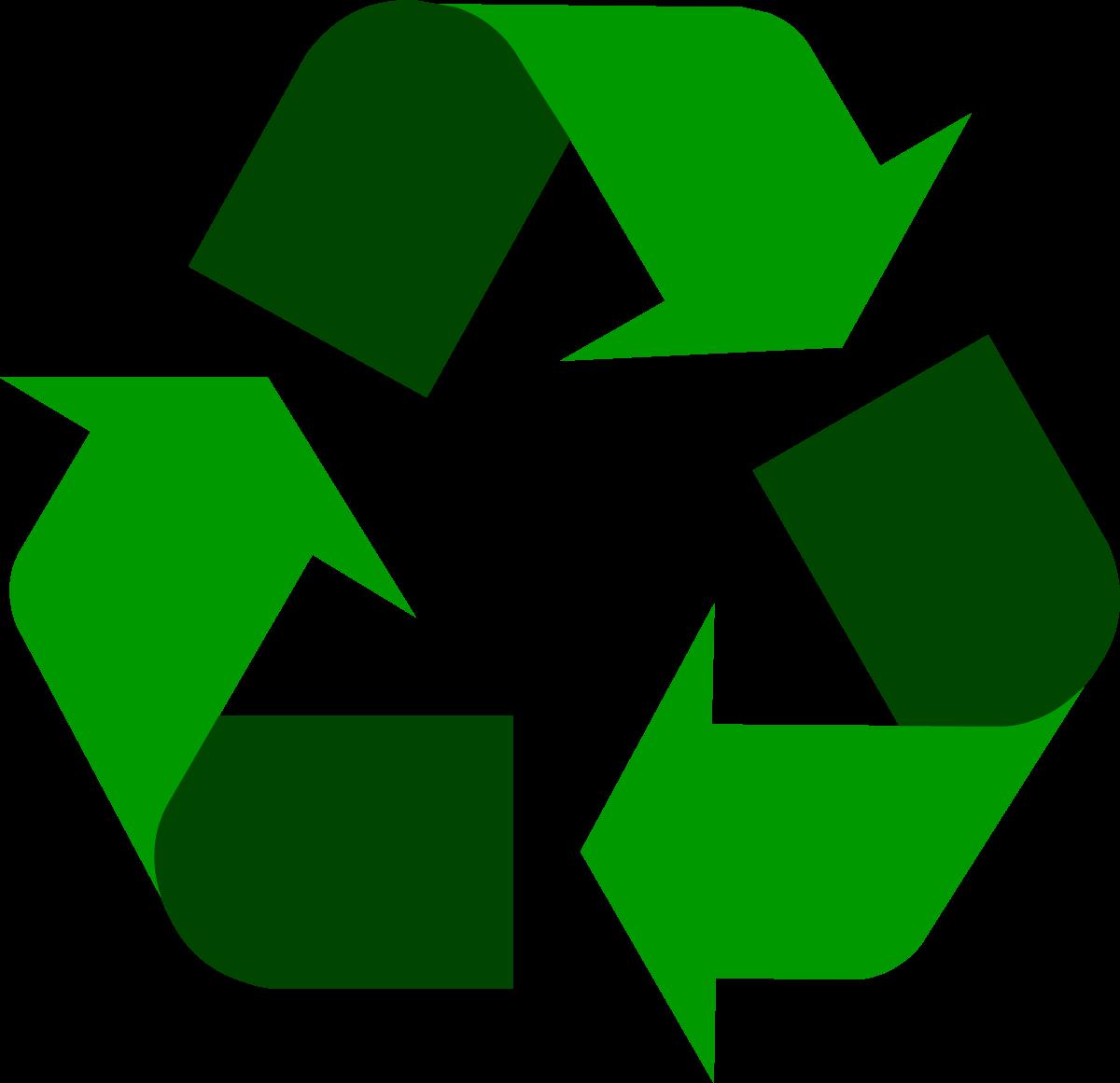 recycling logos.