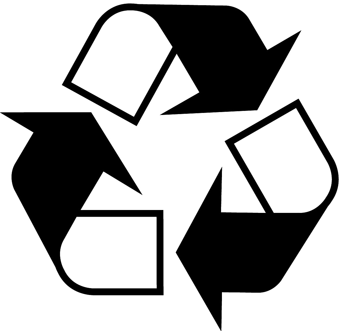 Recycling Symbol Clipart.