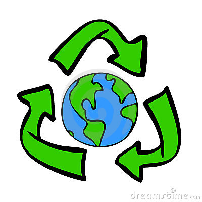 Recycle Earth Clipart.