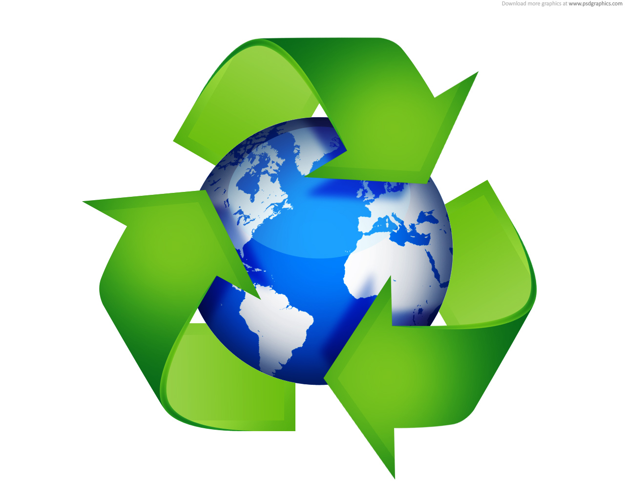 Recycling World Clipart Clipground