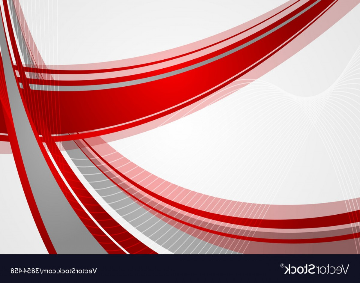 Red Abstract Design Vector Art Png.