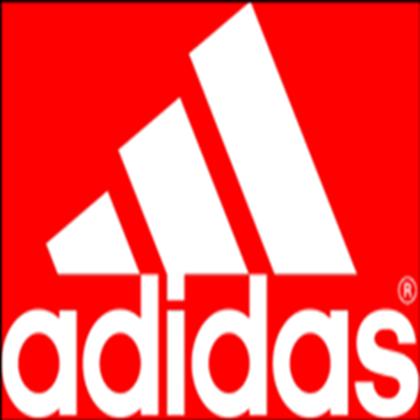 Red Adidas Logo.