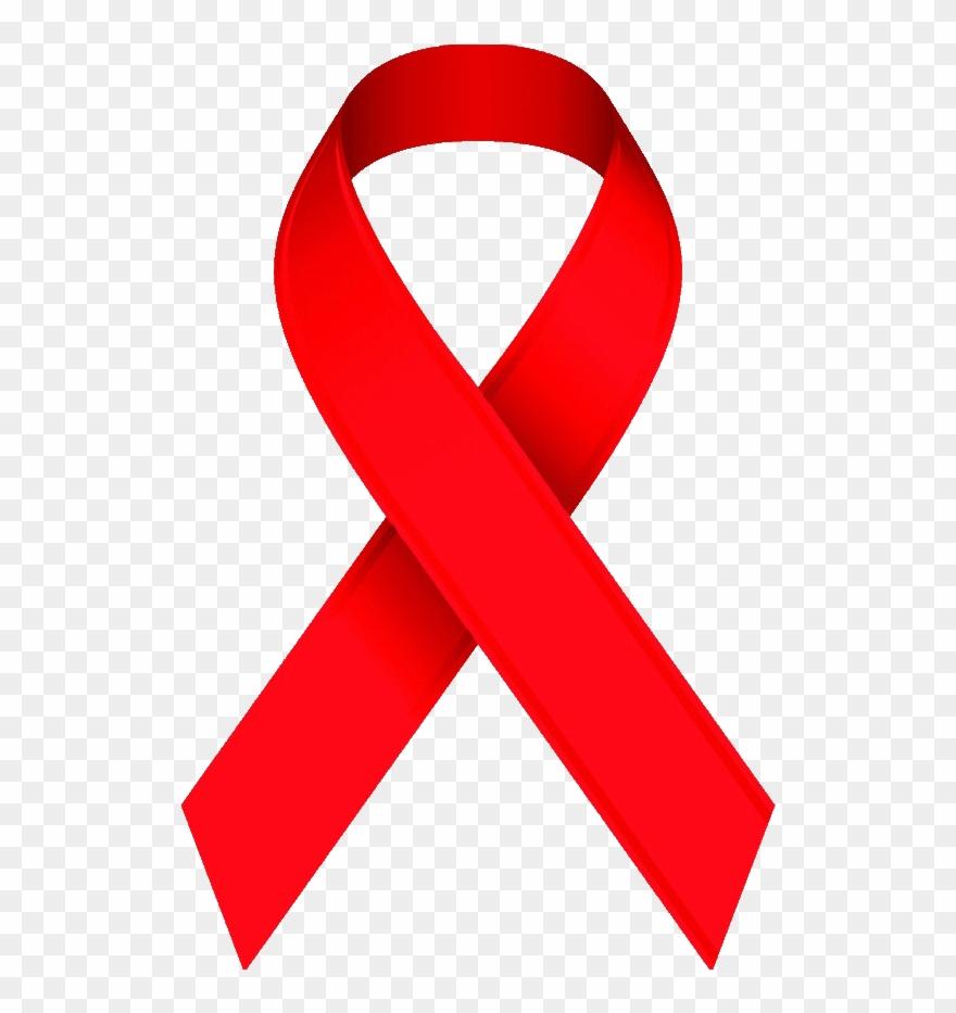 Awareness Ribbon Clip Art Red.