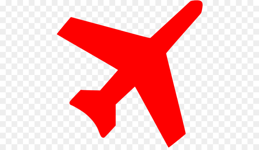 Airplane Red Clip art.