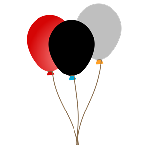 3 Balloons clipart, cliparts of 3 Balloons free download.