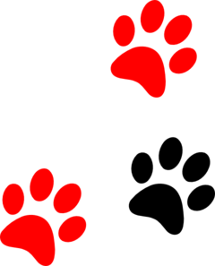red black clipart #2