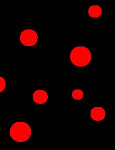 Red And Black Polka Dots Clip Art at Clker.com.