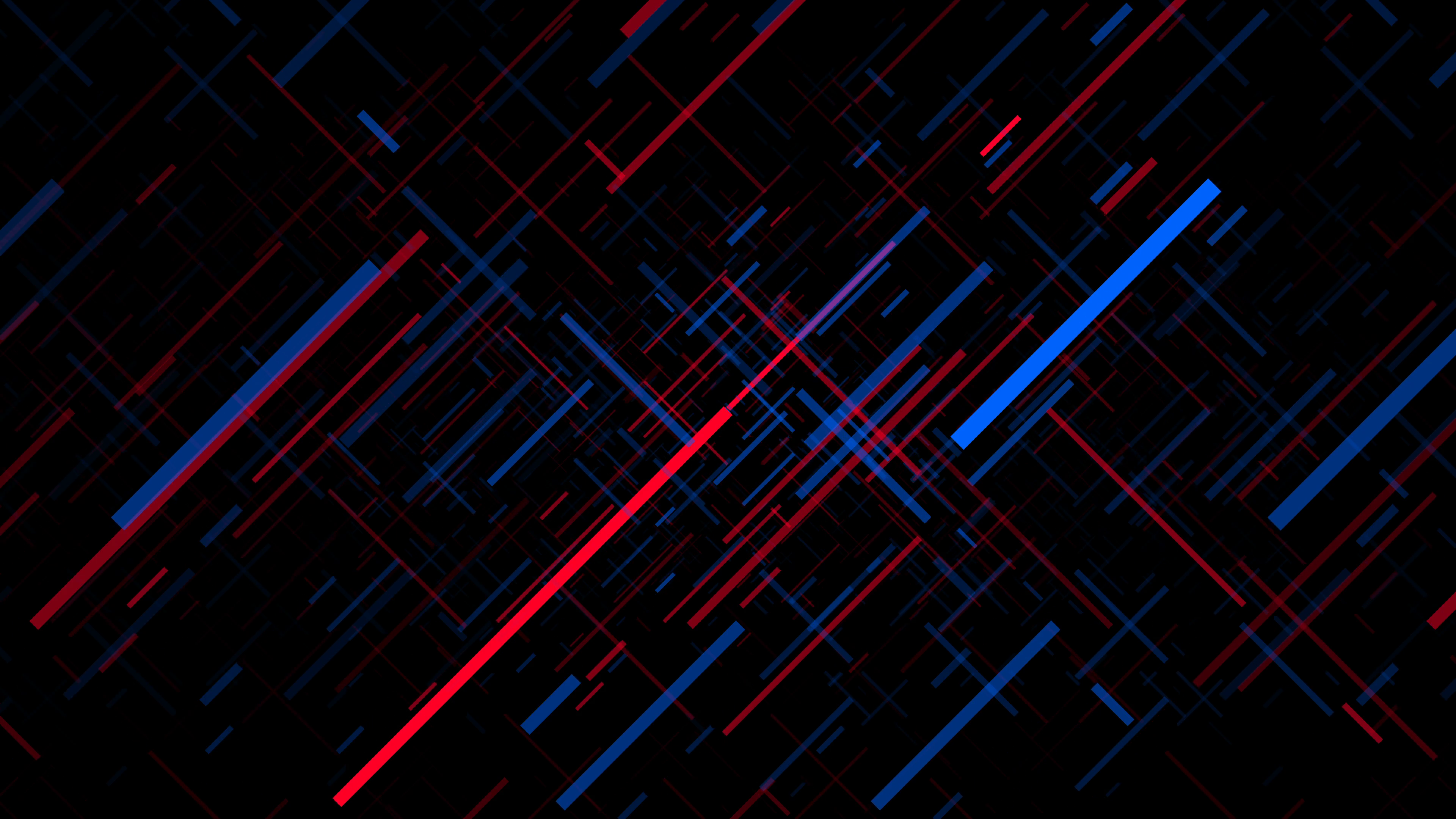 Red and Blue Intersecting Line Background Loop Motion Background.