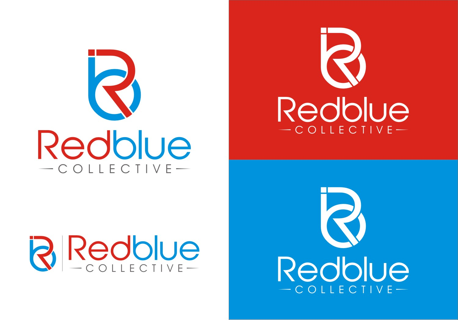 Professional, Upmarket, Consulting Logo Design for Red Blue.