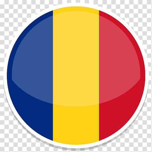 Blue, yellow, and red stripe logo illustration, symbol.