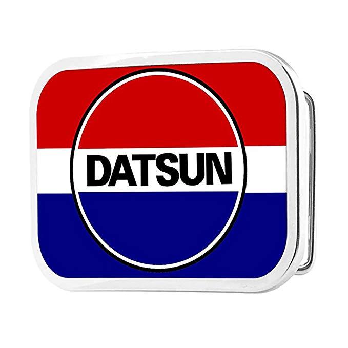 Classic DATSUN Logo/Stripe FCG Red/White/Blue/Black.
