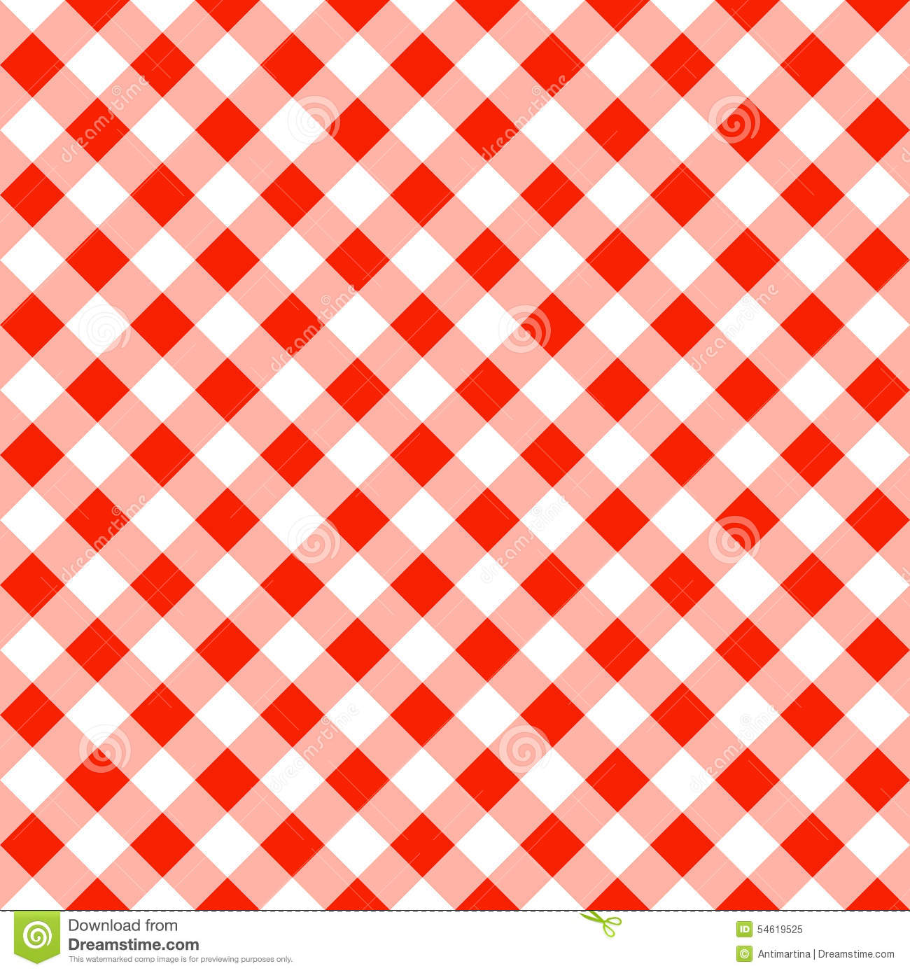 Checkered tablecloth background clipart.