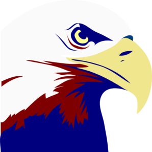 Eagle Red White Blue Clip Art at Clker.com.
