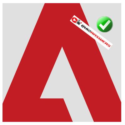 White Mountain: Logo With Red Square And White Mountain.