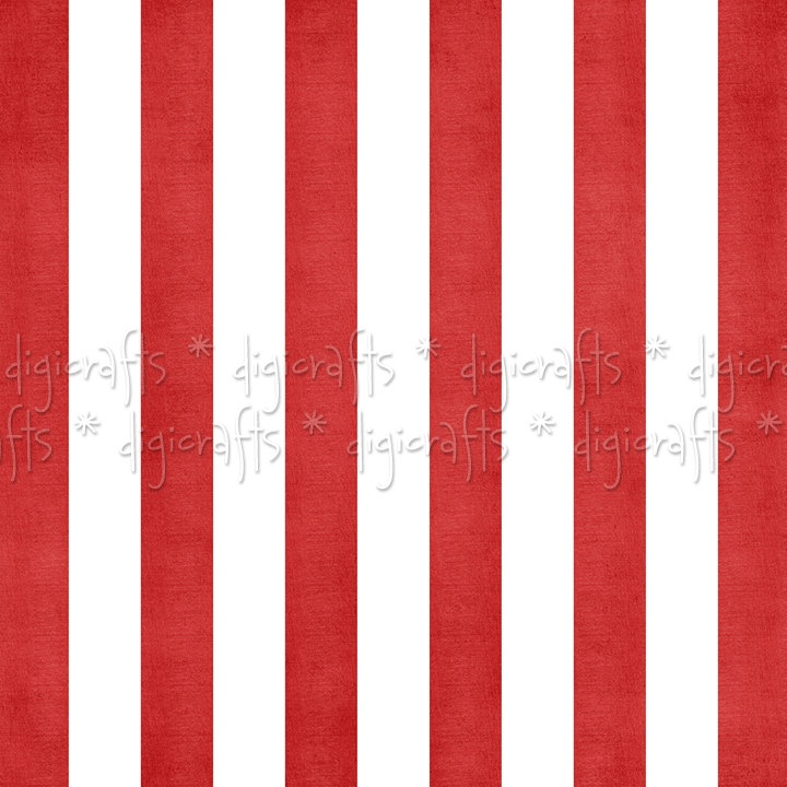 Red And White Striped Clipart.
