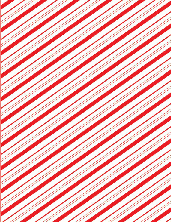 Candy cane stripe red and white graphic design digital paper.