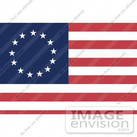 Blue Red And White Striped Clipart.