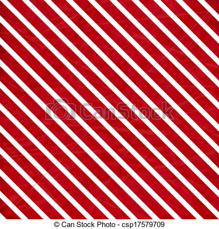 Red white striped clipart.