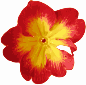 Red And Yellow Flower Clip Art at Clker.com.