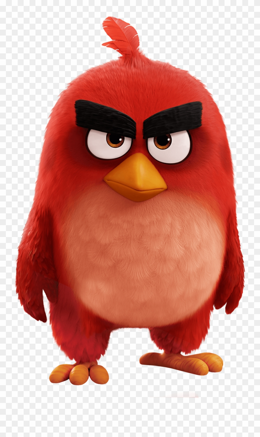 Angry Bird Movie Red Bird Clipart (#360102).