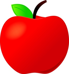 15+ Red Apple Clipart.