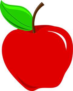Red Apple Clipart.