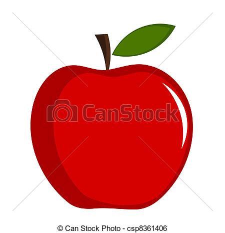 Red apple Vector Clip Art Illustrations. 9,155 Red apple clipart.