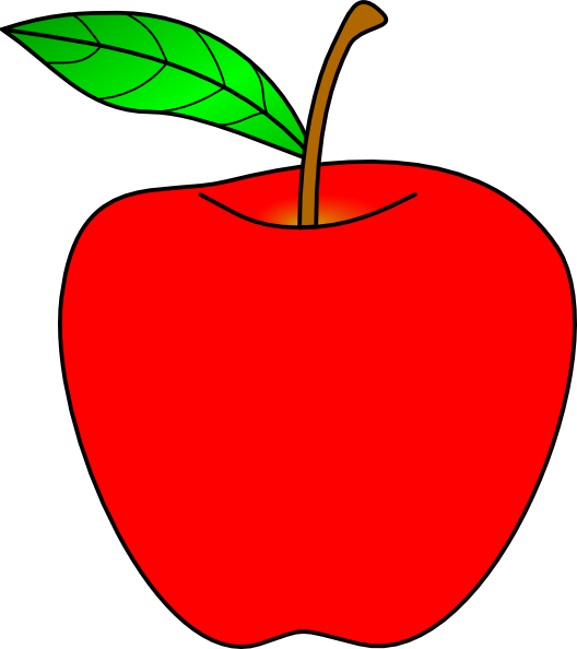 Red Apple Clipart, Download Free Clip Art on Clipart Bay.