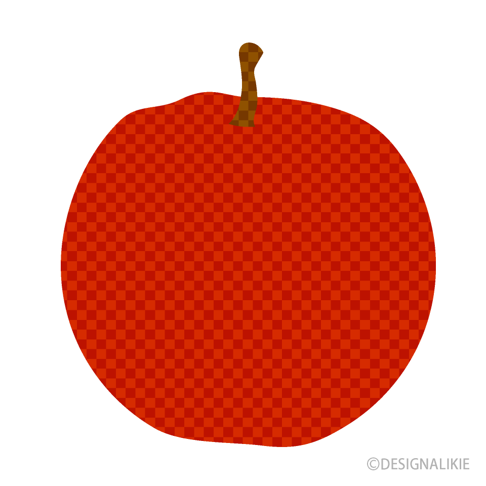 Free Apple Plaid Clipart Image|Illustoon.