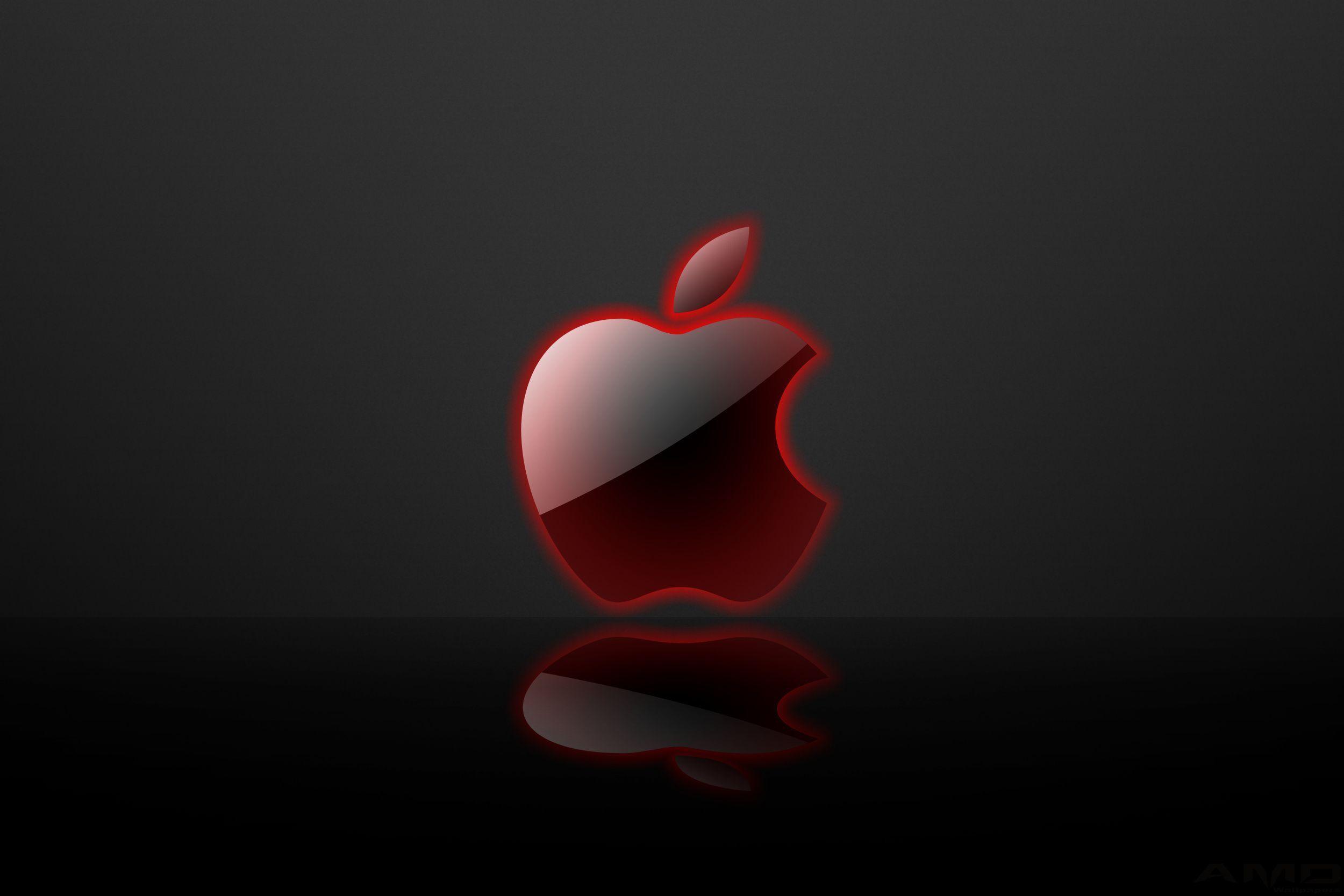 Red Apple Logo Wallpaper (64+ images).