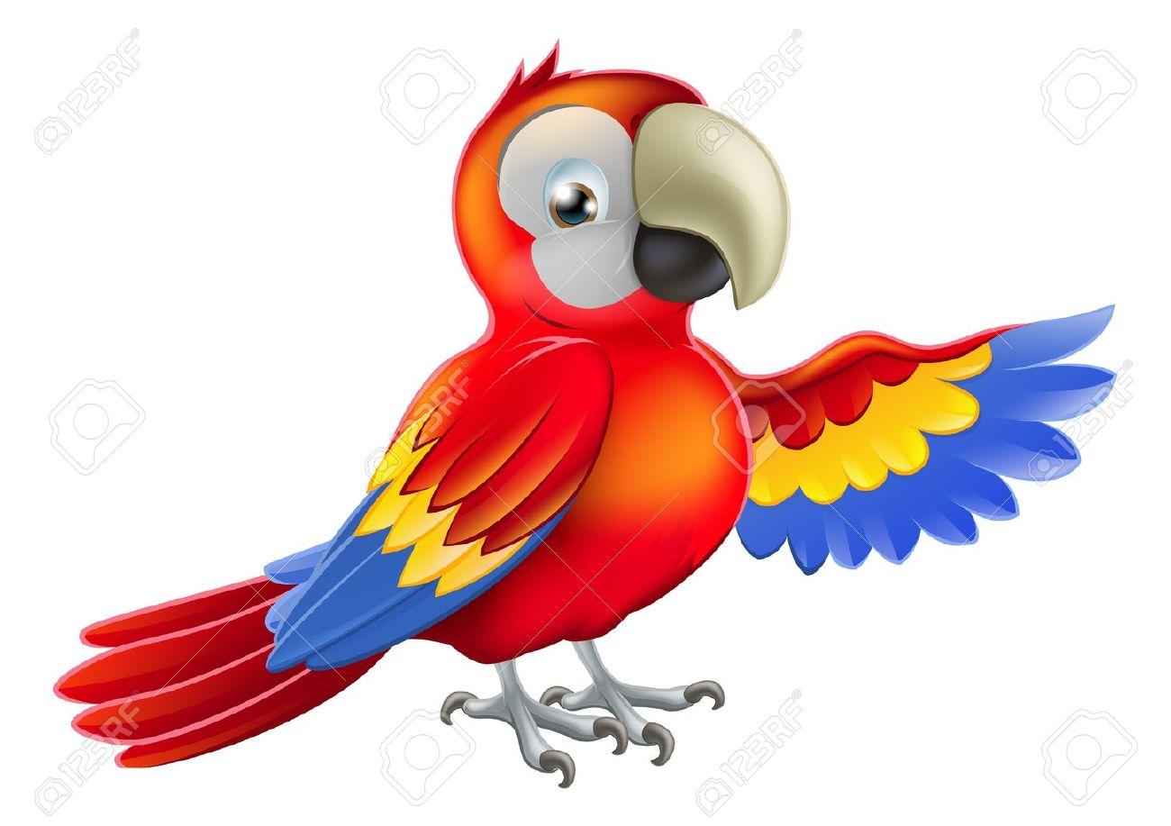 Papagei Ara Clipart.