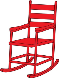 School Chair Clipart.