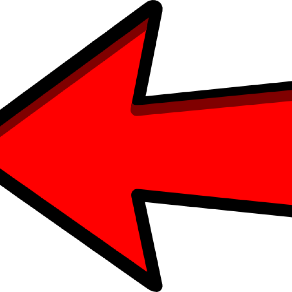 Red Arrow Clipart Left Red Arrow Clip Art At Clker.