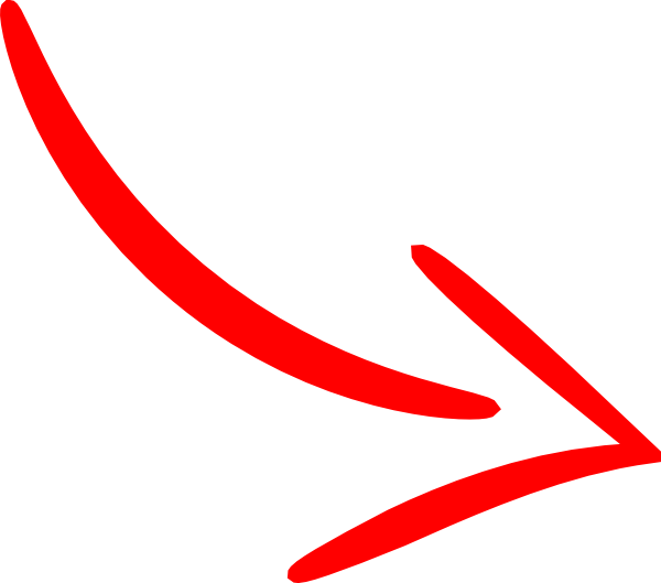 Red arrow line png #36962.