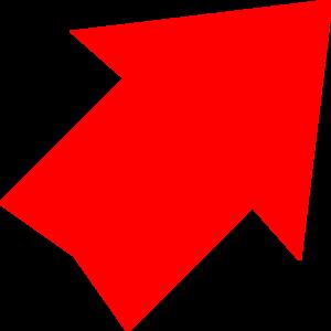 Red Arrow Up Right Clip Art at Clker.com.