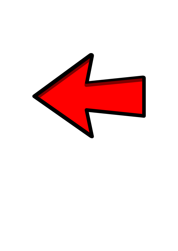 Red arrow pointing left.
