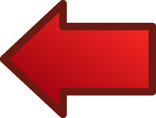 Red Arrows Set Left clip art Free Vector / 4Vector.