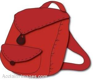 Red bag clipart » Clipart Station.