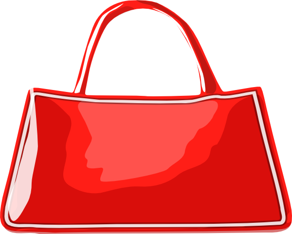 Red Bag Clipart.