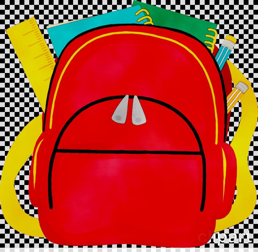 Backpack Cartoon clipart.