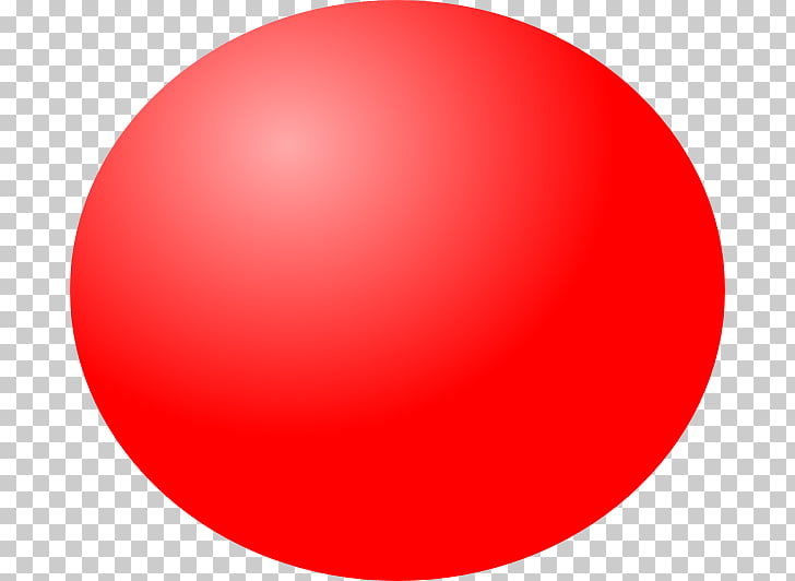Red Ball 4 , number PNG clipart.